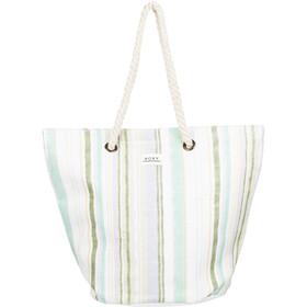 Roxy Sunseeker Tote Women, bright white kamuela stripe s